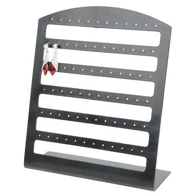 High Quality 72 Holes Earrings Jewelry Display Handmade Organizer Stand Holder