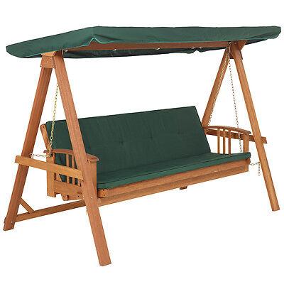 RL 3050 Relax Schaukelliege Hollywoodschaukel Liege Gartenliege Holz grün