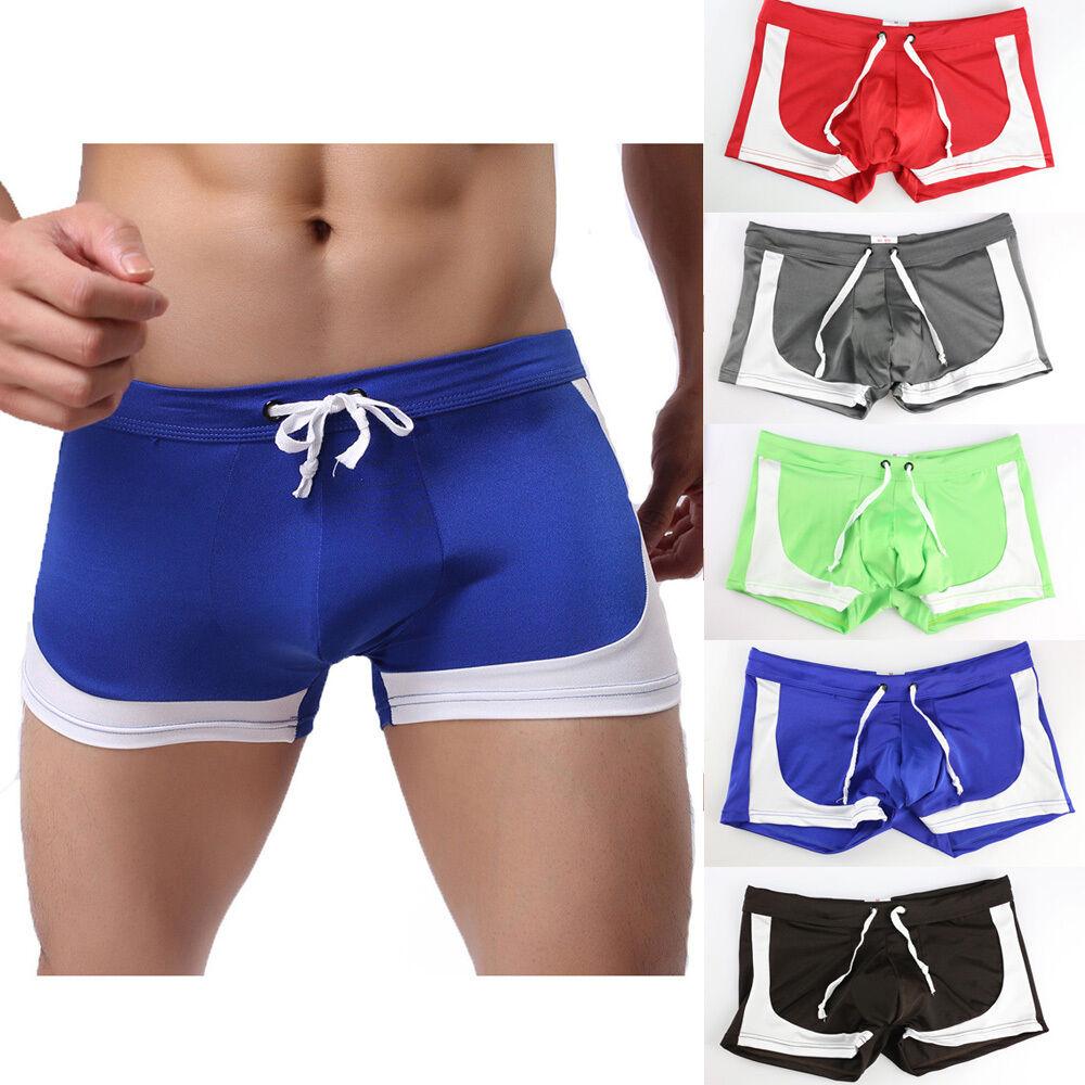 boxer slip intimo pantaloncini da Nuoto Pantaloni uomo costume bagno sexy NUOVO