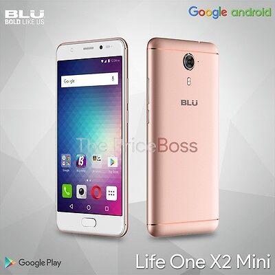 "BLU Life ONE X2 Mini  5.0"" Unlocked Smartphone 4G LTE 64GB + 4GB RAM Rose Gold"