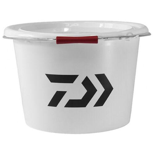 Daiwa White Bucket 18Ltr - Fishing Bucket