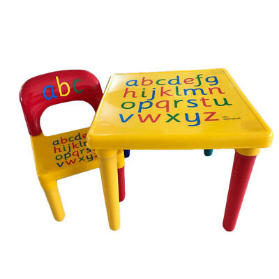 Kids Table And Chair Set Furniture Play Table Activity Children Toddler - Toddler Activity Table