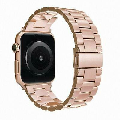 Aus 4 Stainless Steel (Band For Apple Watch 38mm 40mm Series 4 3 2 1, Simpeak Stainless Steel)