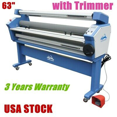 Us - 63 Full-auto Large Format Cold Laminator Roll To Roll Laminating Machine