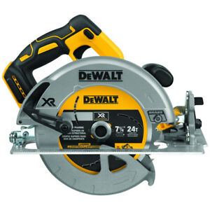 DEWALT 20V MAX 7-1/4 in. Cordless Circular Saw DCS570B New