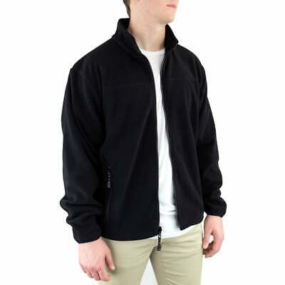 River's End Microfleece Jacket  Athletic   Outerwear - Black - Mens