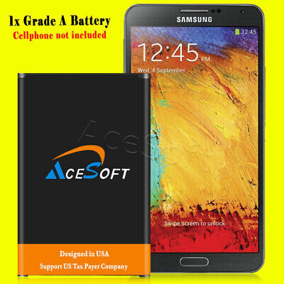 New 6690mAh Extended Slim battery for Verizon Samsung Galaxy Note 3 SM-N900V USA