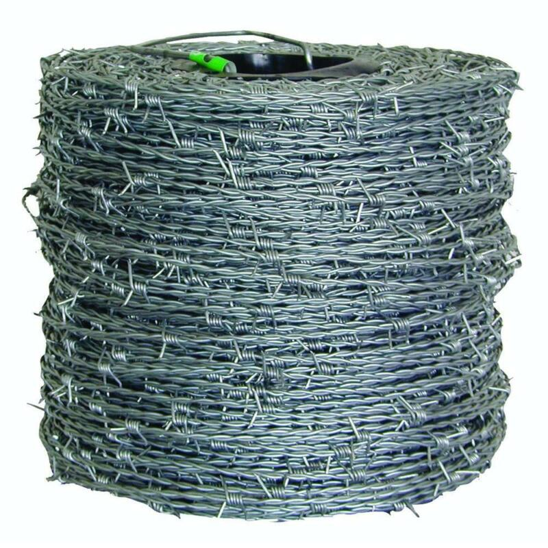 FARMGARD Barbed Wire Fence 1,320 ft. 15-1/2-Gauge 4-Point High-Tensile