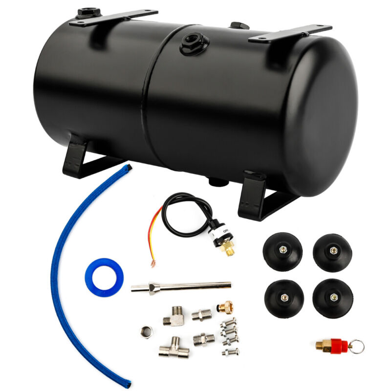 OPHIR DIY 3L Air Tank for Airbrush Air Compressor for Model Hobby Craft Painting