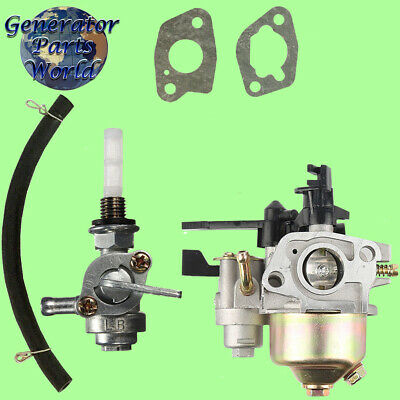 Mtd Carburetor W Shutoff Left Petcock For 21ab45m5004 170-v0b Rear Tine Tiller
