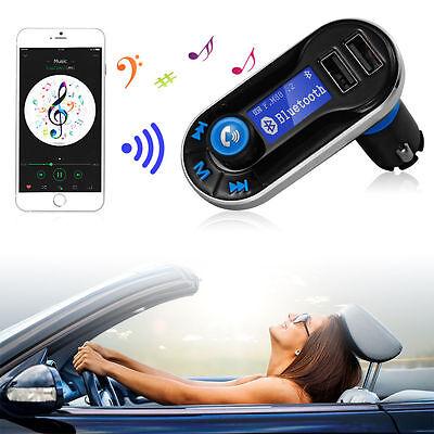 Bluetooth Auto Car FM Transmitter MP3 Player Freisprechanlage USB AUX KFZ MA323