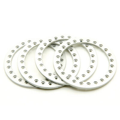 (4Pcs Alloy Replacement Wheel Beadlock Ring For 2.2