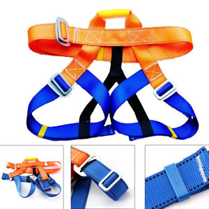 Climb Harness Seat Belts Safety Rock Climbing Rappelling Equipment Speed Kit b66bd041f