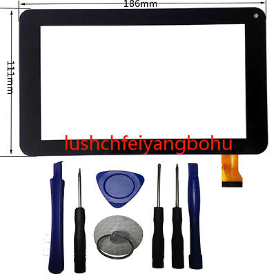USA Digitizer Touch Screen Front Glass Panel For DigiLand DL701Q 7 Inch Tablet