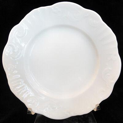 "MANUELINE WHITE Vista Alegre Bread & Butter Plate 6.25"" NEW NEVER USED Portugal"