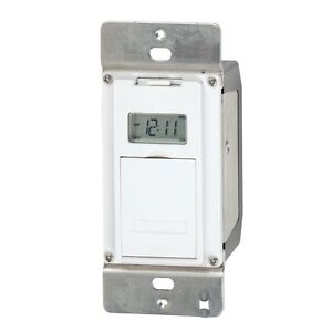 Intermatic EJ500 Digital In-Wall 4 Amp Astronomic Electronic Switch 7-Day Timer