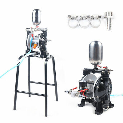 Pneumatic Double Diaphragm Pump 13lmin W Filter Suction Cup For Paint Water