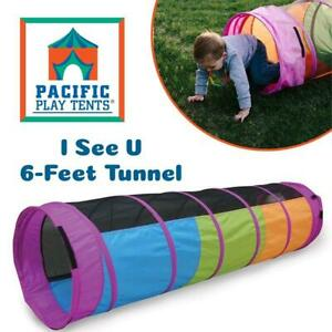 NEW Pacific Play Tents I See U 6-Feet Tunnel Condtion: New