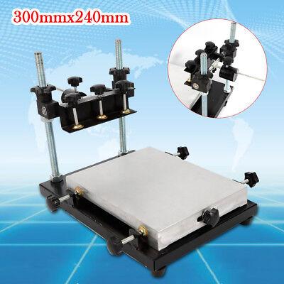 Stencil Printing Platform Machine Manual Solder Paste Printer Pcb Smt Us Stock