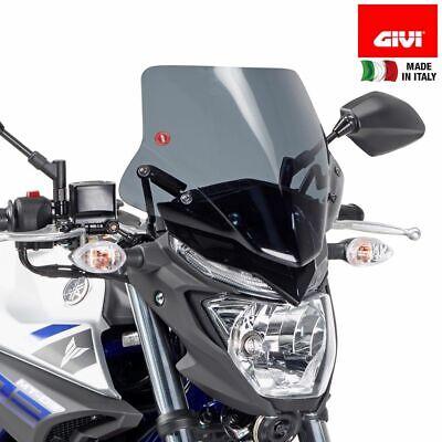 Windscreen GIVI A2127 First A Mounting Yamaha 321 MT03 2015-2016