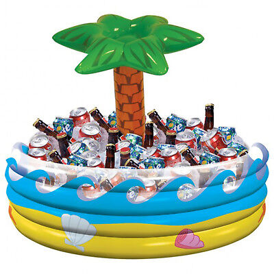 alm Tree Drinks Cooler Beer Chiller Hawaiian Pool Party (Blow-up Palme)