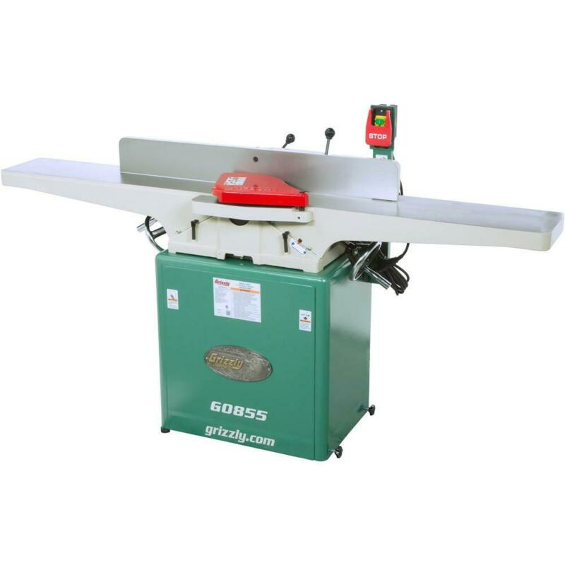 """Grizzly G0855 8"""" x 72"""" Jointer with Built-in Mobile Base"""