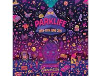 Parklife weekend ticket