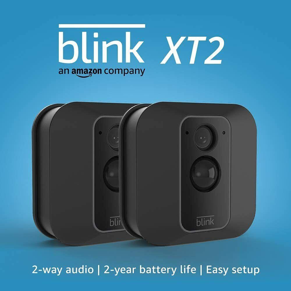 Blink XT2 2-Camera Indoor/Outdoor Wire-Free 1080p Surveillan