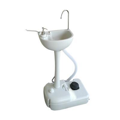 Portable Camping Sink RV Barber Kitchen Indoor Hygiene Wash Sink Basin Faucet