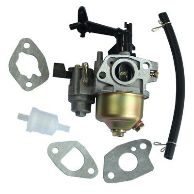 Carburetor Carb for HONDA GX160 5.5HP GX200 16100-ZH8-W61 W/ Fuel Pipe & Gasket