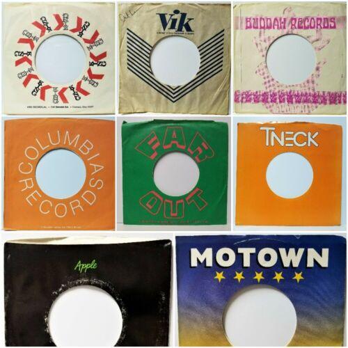 "Original Company Sleeves for Dj 7"" 45rpm Vinyl Records 60"