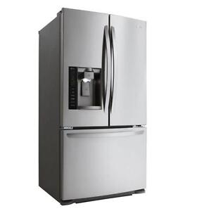 LARGE SELECTION OF LG STAINLESS STEEL FRIDGE-- COMES WITH FULL WARRANTY--CHECK THIS ONE OUT!!