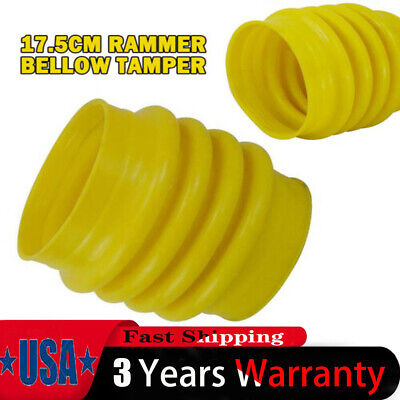 Jumping Jack Bellows Boot 6.8 Dia.fit Wacker Rammer Compactor Tamper Yellow
