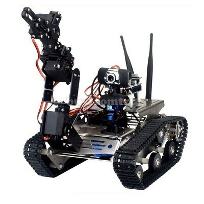 Wifi Robot Tank Kit Unfinished Smart Robotic Car Kit A1 Robot Arm Standard Br