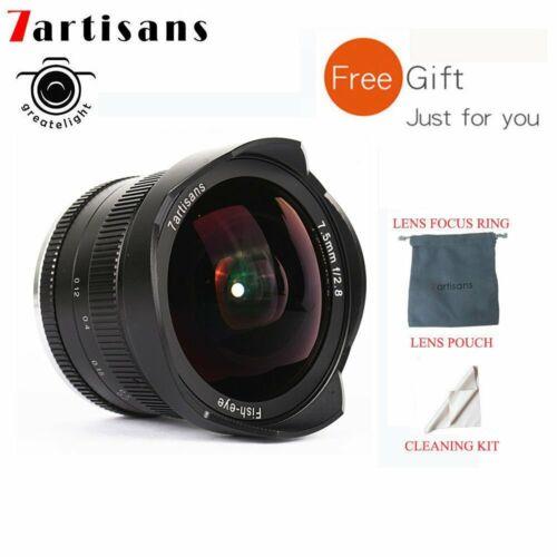 REAL EU SHIP ✮ 7Artisans 7.5mm f//2.8 FishEye manual lens for APS-C SONY E-mount