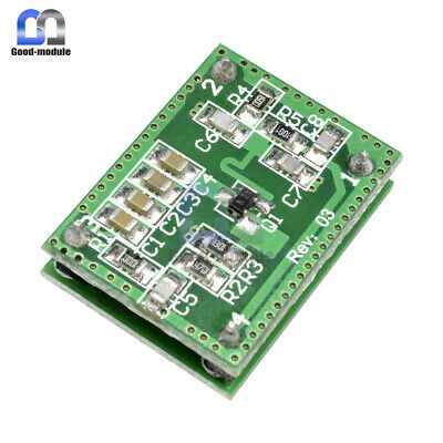 Lv002 10.525ghz 8-15m Doppler Radar Microwave Sensor Switch Module
