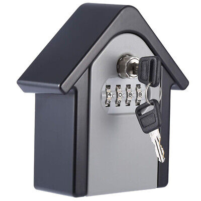 Key Storage Security Lock (Key Storage Security Lock Wall Mounted Outdoor Combination Lock Box Grey)
