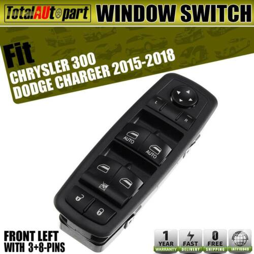 Power Window Switch Front Left For Dodge Charger Chrysler
