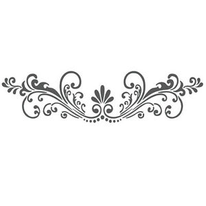 Details about Wall Stencils Border Stencil Pattern Reusable Template ...