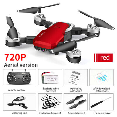 RC Drone 1080P Camera FPV WIFI Foldable Dual HD Camera Quadcopter Christmas Gift