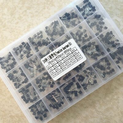 Triode Transistor Smd Assortment Assorted Box Kits Throught Hole 480pcslots New