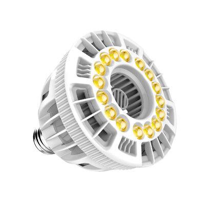 SANSI LED Grow Light 15w Full Spectrum Full Cycle Sunlight Indoor Garden Farming