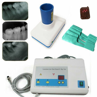 Dental Mobile X-ray Machine Digital X-ray Unit Low Dose Imaging System Us Stock