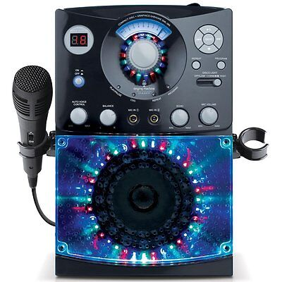 SEHR GUT: Singing Machine SML385 tragbarer Karaoke Player inkl. 2 CD-Gs/Schwarz