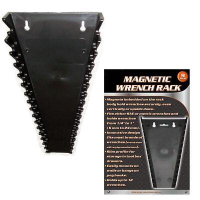 1 Universal Magnetic Wrench Tray SAE Metric Socket Rack Toolbox Organizer