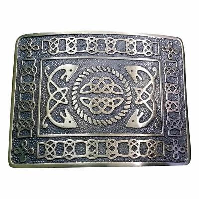 TC Scottish Highland Swirl Celtic Design Kilt Belt Buckle Antique Finish Highland Swirl