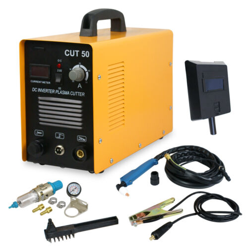 DC Inverter 50Amp Air Plasma Cutter Welding Welder Machine CUT-50 220V/110V Business & Industrial