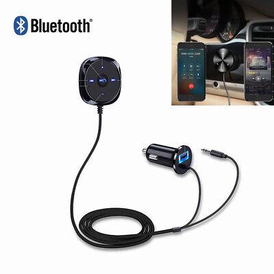 Bluetooth Wireless Auto Audio Car Kit Receiver Musik Empfänger KFZ Adapter FM