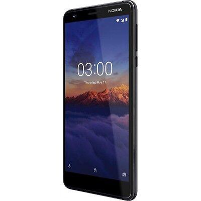 Nokia 3.1 16GB black Android Smartphone Handy LTE/4G Aluminium ohne Vertrag