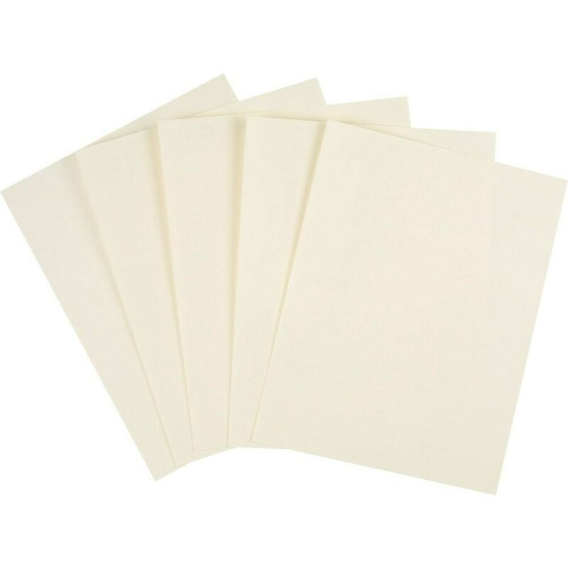 """Staples Cardstock Paper 110 lbs 8.5"""" x 11"""" Ivory 250/Pack (49703)"""